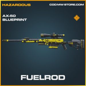 Fuelrod AX-50 Skin legendary blueprint call of duty modern warfare item