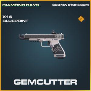 Gemcutter X16 skin legendary blueprint call of duty modern warfare item