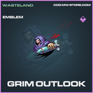 Grim outlook emblem epic call of duty modern warfare item