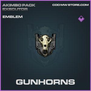 Gunhorns emblem epic call of duty modern warfare item