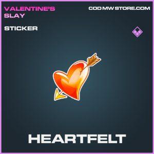 Heartfelt sticker epic call of duty modern warfare item