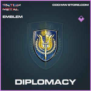 Diplomacy emblem epic call of duty modern warfare item