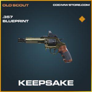 Keepsake .357 skin legendary blueprint call of duty modern warfare item