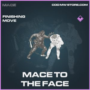 Mace to the face finishing move epic call of duty modern warfare item