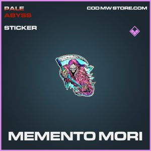 Memento Mori epic sticker call of duty modern warfare item