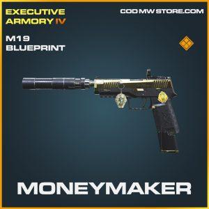 Moneymaker M19 skin legendary blueprint call of duty modern warfare item