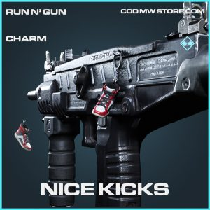 Nice kicks charm rare call of duty modern warfare item