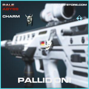 Pallid Oni charm rare call of duty modern warfare item