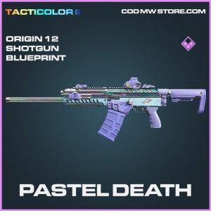 Pastel Death Origin 12 Shotgun skin epic blueprint call of duty modern warfare item