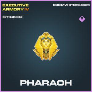 Pharaoh sticker epic call of duty modern warfare item