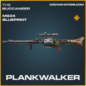 Plankwalker mg34 skin legendary blueprint call of duty modern warfare item