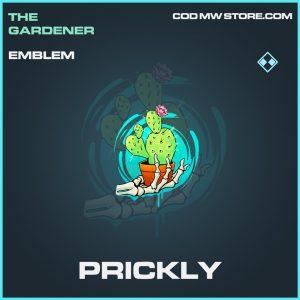 Prickly rare emblem call of duty modern warfare item