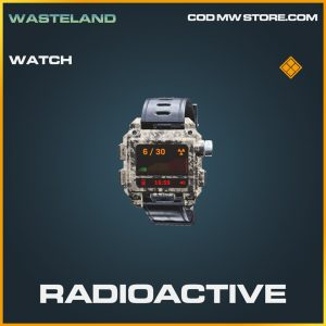 Radioactive watch legendary call of duty modern warfare item