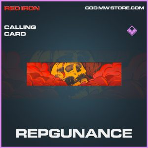Repgunance calling card epic call of duty modern warfare item