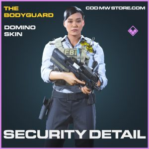 Security detail domino skin epic call of duty modern warfare item