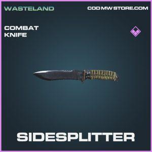 Sidesplitter combat knife epic call of duty modern warfare item