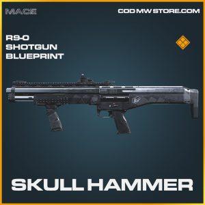 Skull hammer R9-0 Shotgun skin legendary blueprint call of duty modern warfare item