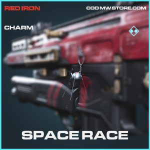 Space Race rare charm call of duty modern warfare item