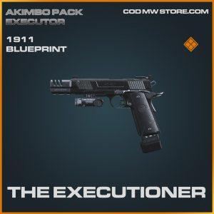 The executioner 1911 skin legendary blueprint call of duty modern warfare item
