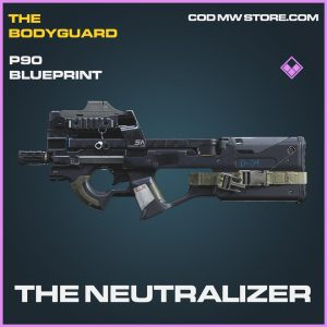 The neutralizer P90 skin epic blueprint call of duty modern warfare item