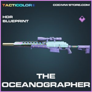 The oceanographer hdr skin epic blueprint call of duty modern warfare item