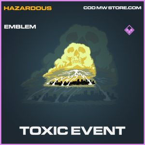Toxic Event emblem epic call of duty modern warfare item