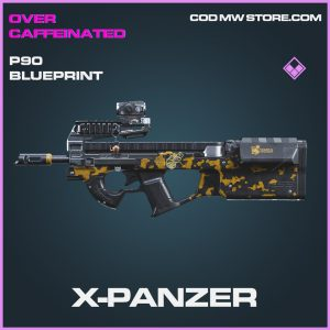 X-Panzer P90 skin epic blueprint call of duty modern warfare item