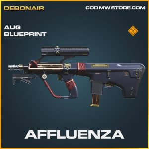 Affluenza AUG skin legendary blueprint call of duty modern warfare item