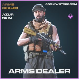 Arms Dealer Azur Skin epic call of duty modern warfare warzone item