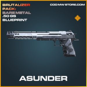 Asunder .50 GS skin legendary blueprint call of duty modern warfare warzone item