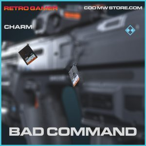 Bad Command charm rare call of duty modern warfare item