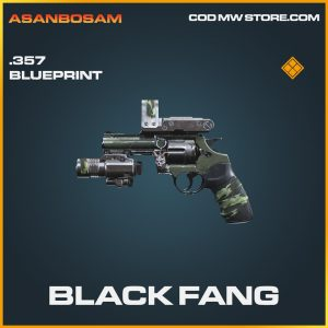 Black fang .357 skin legendary blueprint call of duty modern warfare warzone item