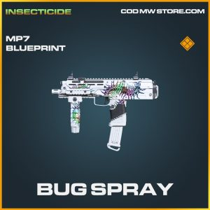 Bug Spray MP7 legendary blueprint call of duty modern warfare warzone item