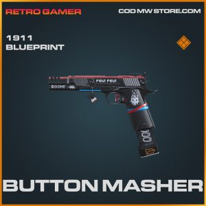 Button Masher 1911 skin legendary blueprint call of duty modern warfare item