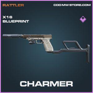 Charmer X16 skin blueprint epic call of duty modern warfare warzone item