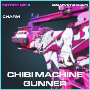 Chibi Machine Gunner charm rare call of duty modern warfare warzone item