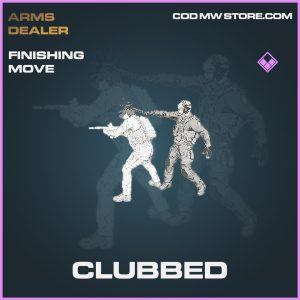 Clubbed finishing move epic call of duty modern warfare warzone item