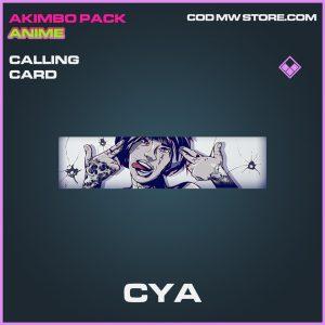 Cya calling card epic call of duty modern warfare warzone item