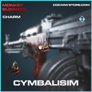 Cymbalisim charm rare call of duty modern warfare warzone item