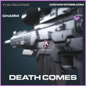 Death Comes charm epic call of duty modern warfare warzone item