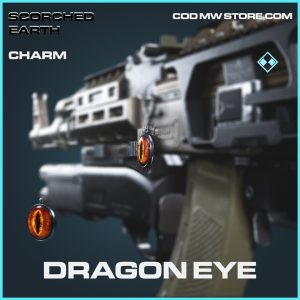 Dragon Eye charm rare call of duty modern warfare warzone item
