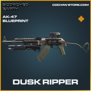 Dusk Ripper AK-47 skin legendary blueprint call of duty modern warfare warzone item