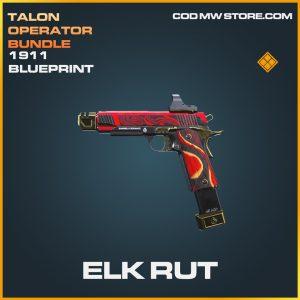 Elk Rut 1911 skin legendary blueprint call of duty modern warfare warzone item