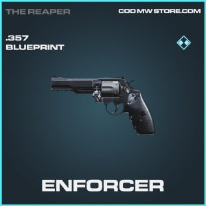 Enforcer .357 skin rare blueprint call of duty modern warfare warzone item