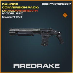 Firedrake Model 680 skin legendary blueprint call of duty modern warfare warzone item