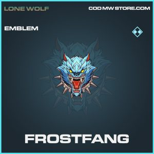 Frostfang emblem rare call of duty modern warfare warzone item