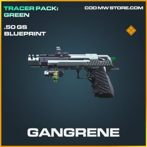 Gangrene .50 GS skin legendary blueprint call of duty modern warfare warzone item