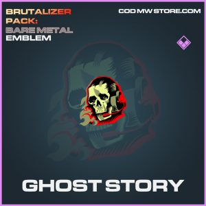 Ghost Story emblem epic call of duty modern warfare warzone item