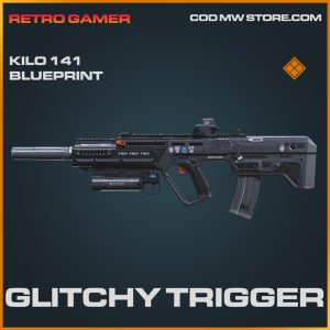 Glitchy Trigger Kilo 141 skin legendary blueprint call of duty modern warfare item