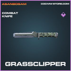Grssclipper combat knife skin epic call of duty modern warfare warzone item